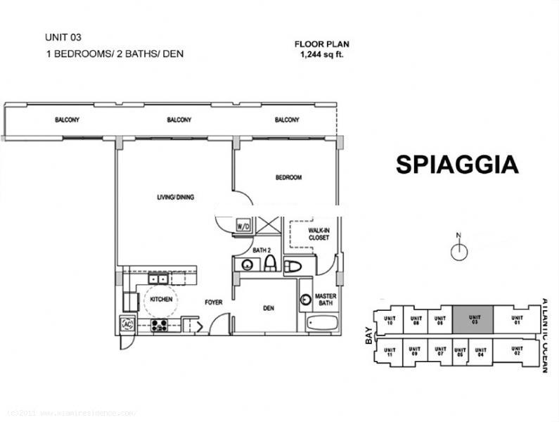 Spiaggia - Floorplan 2