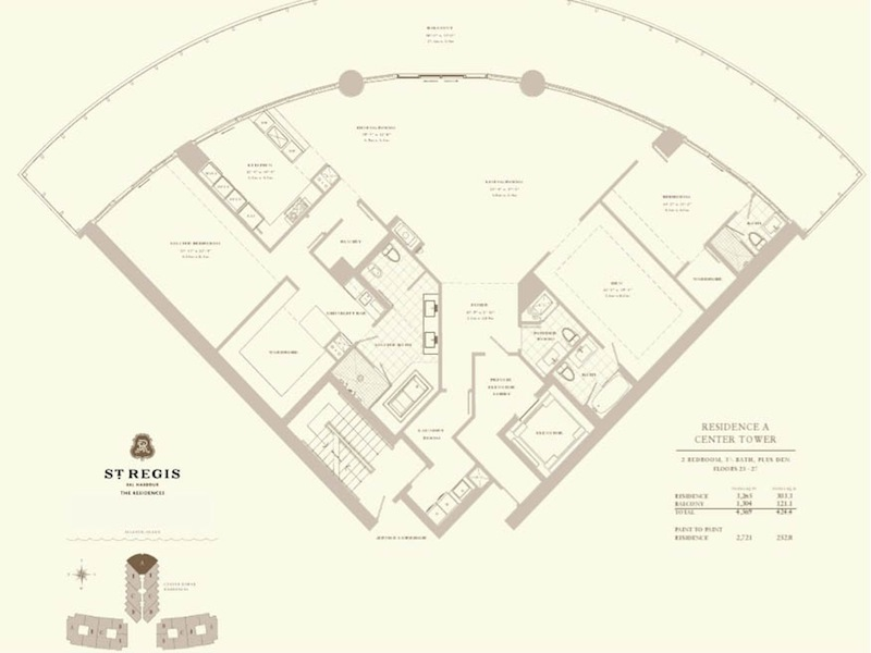 St Regis - Floorplan 1