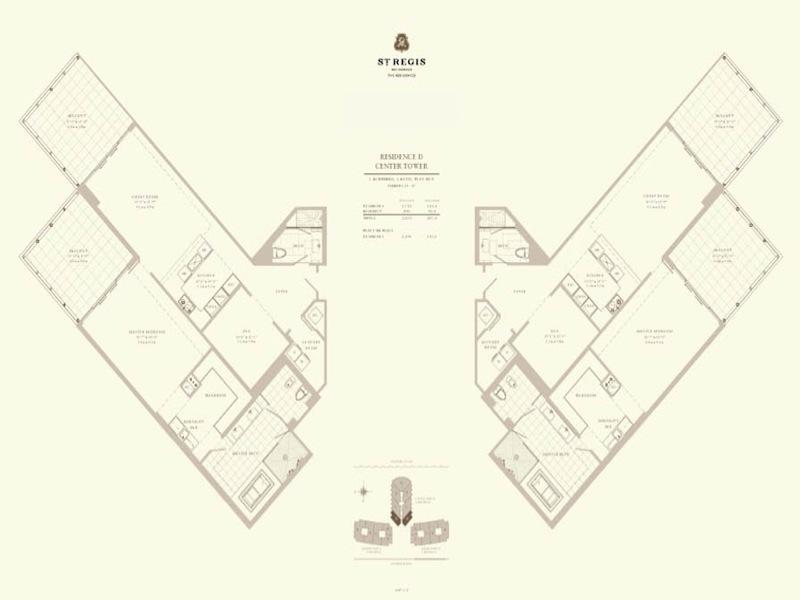 St Regis - Floorplan 2