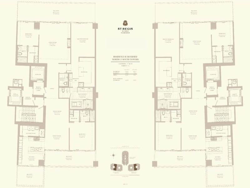 St Regis - Floorplan 3