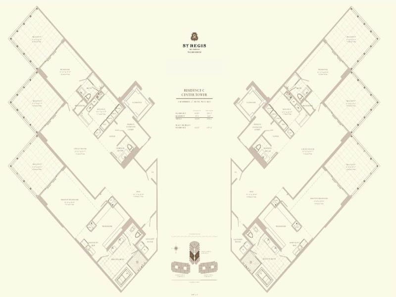 St Regis - Floorplan 4