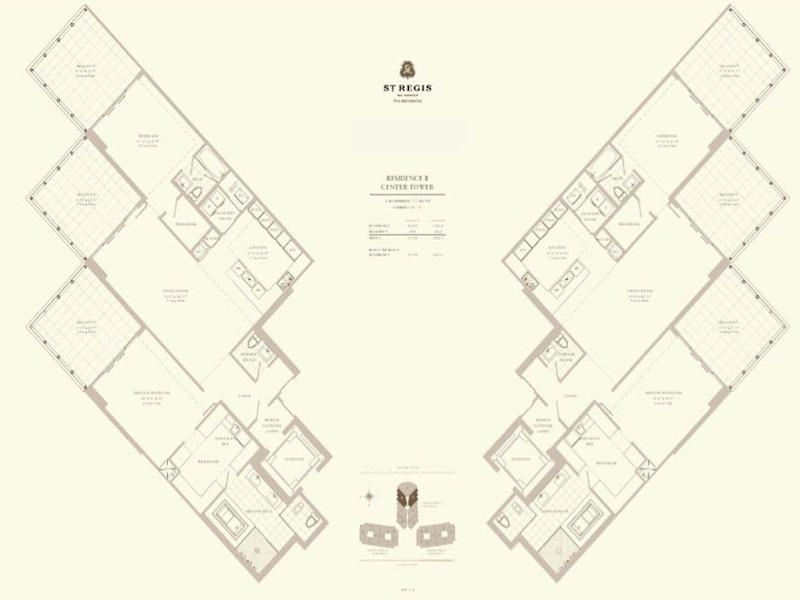 St Regis - Floorplan 5