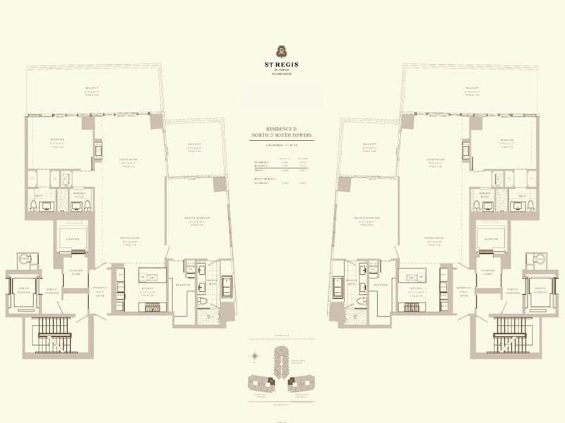 St Regis - Floorplan 6