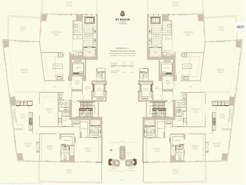 St Regis - Floorplan 7