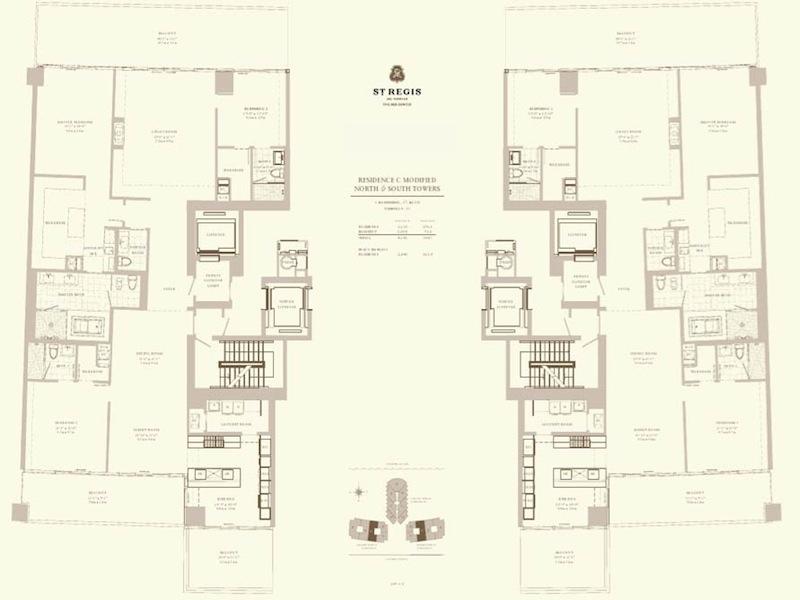 St Regis - Floorplan 8