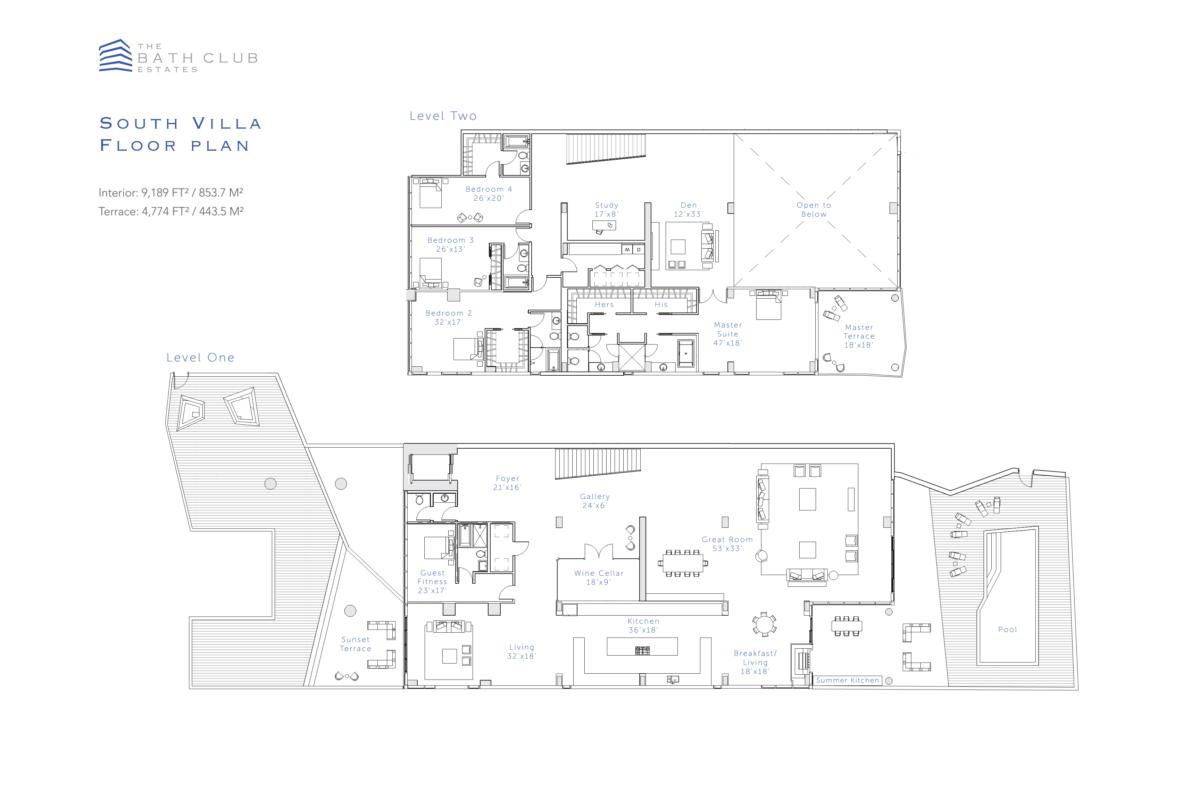 The Bath Club Estates - Floorplan 3