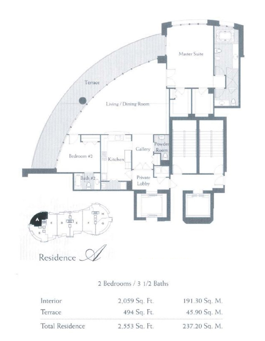 The Bath Club - Floorplan 1