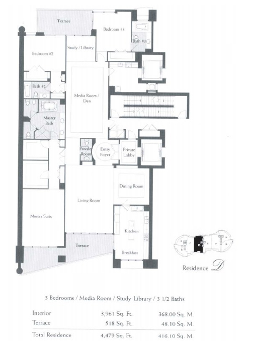 The Bath Club - Floorplan 3