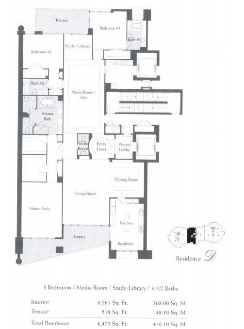 The Bath Club - Floorplan 3