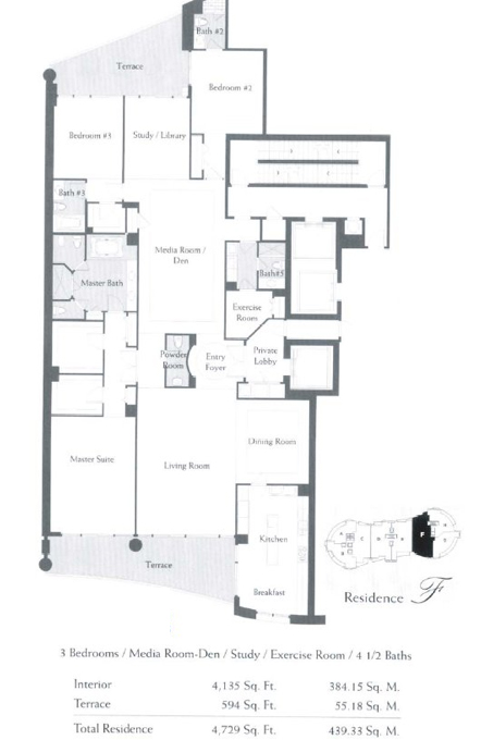 The Bath Club - Floorplan 6