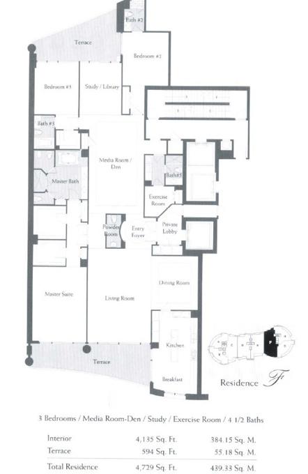 The Bath Club - Floorplan 6
