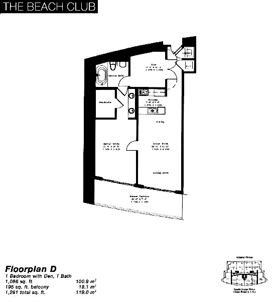 The Beach Club Tower II - Floorplan 2