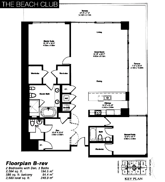 Beach Club Tower II - Floorplan 4