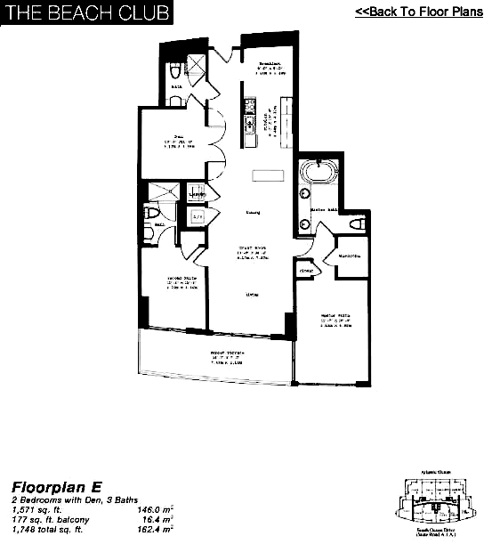 The Beach Club Tower II - Floorplan 5