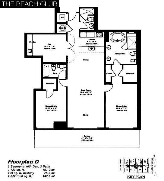 Beach Club Tower II - Floorplan 6