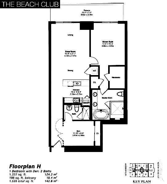 The Beach Club Tower II - Floorplan 8