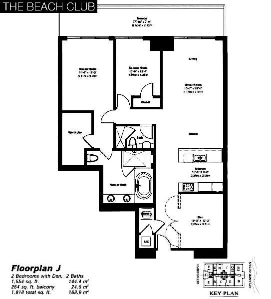 The Beach Club Tower II - Floorplan 10