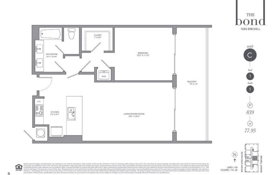 The Bond - Floorplan 1