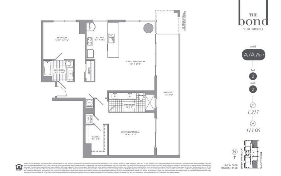 The Bond - Floorplan 2
