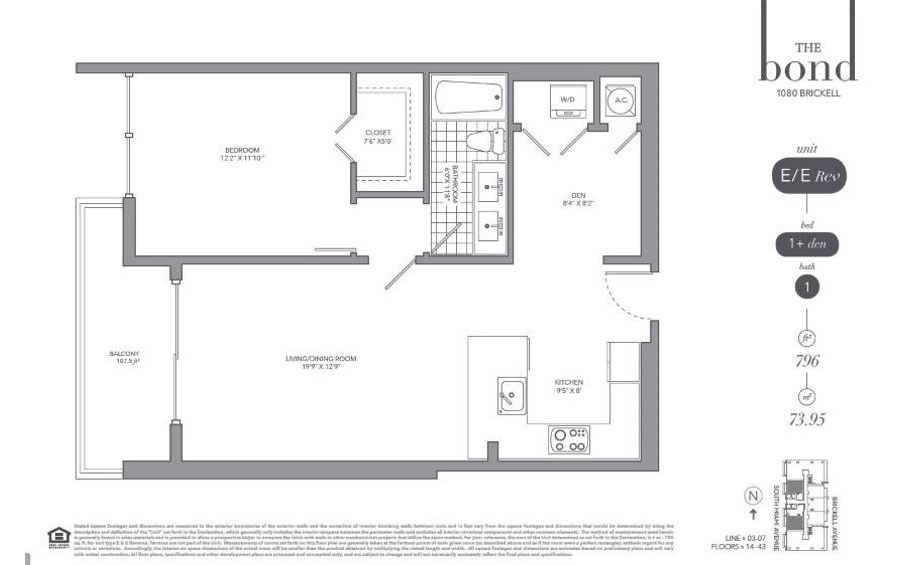 The Bond - Floorplan 3