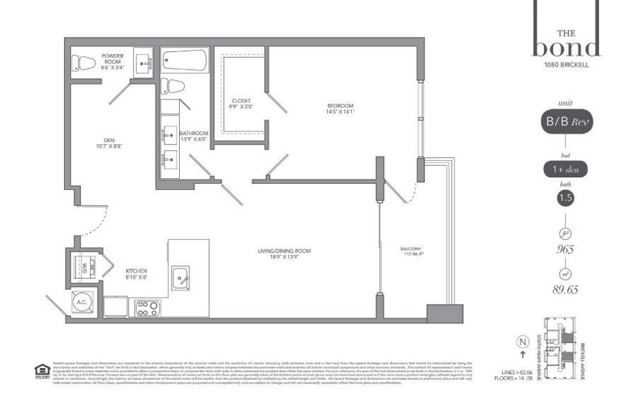 The Bond - Floorplan 5