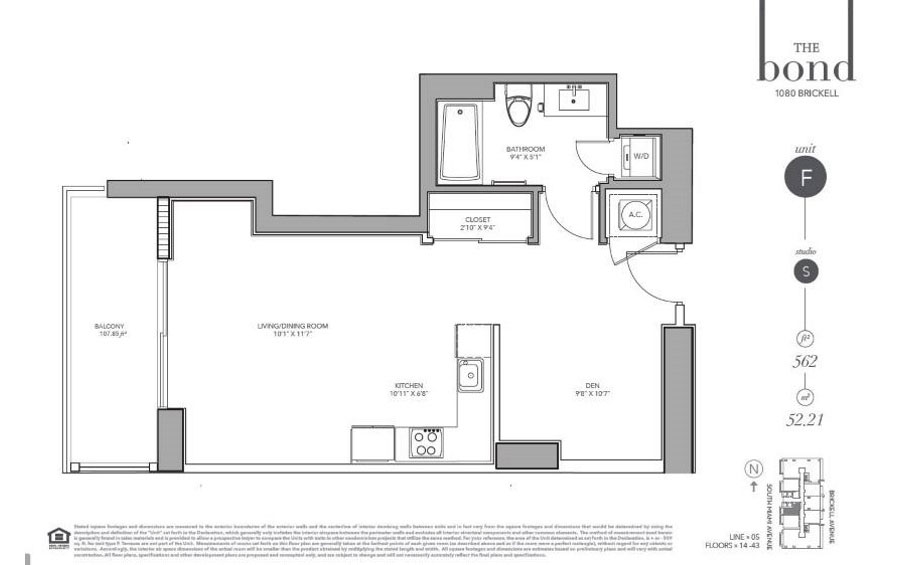 The Bond - Floorplan 6
