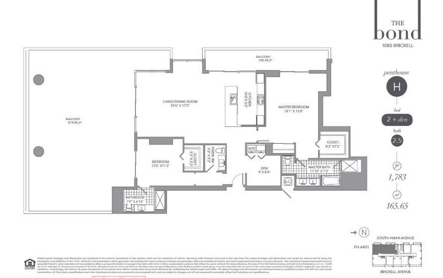 The Bond - Floorplan 7