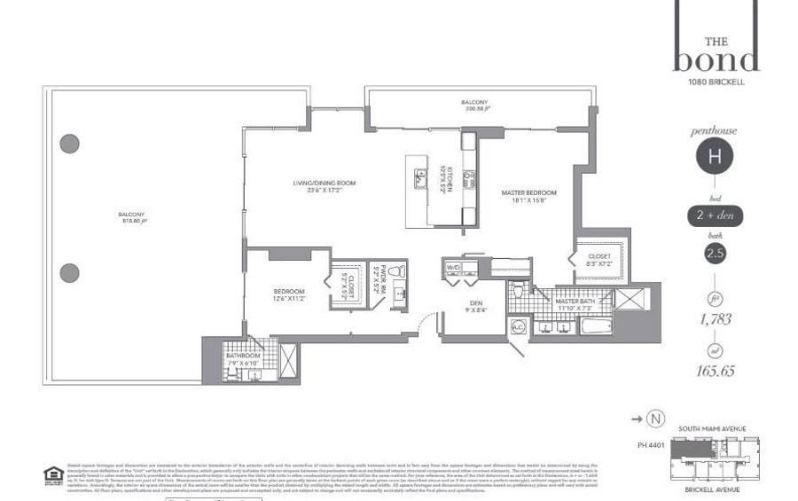 The Bond - Floorplan 7