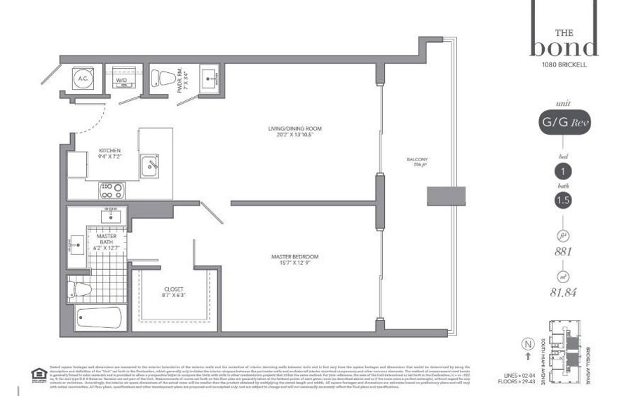 The Bond - Floorplan 8