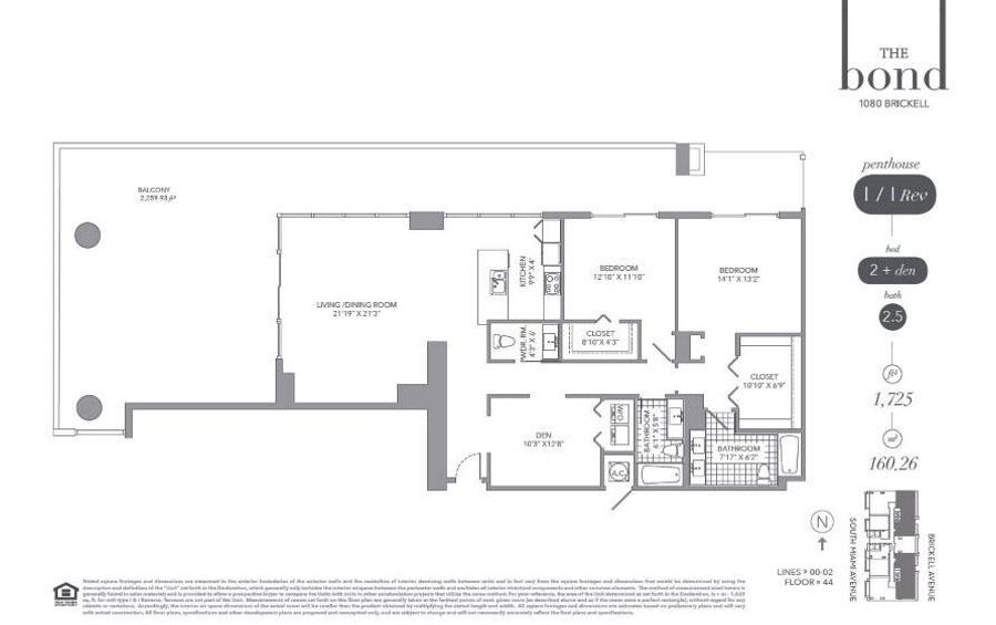 The Bond - Floorplan 9