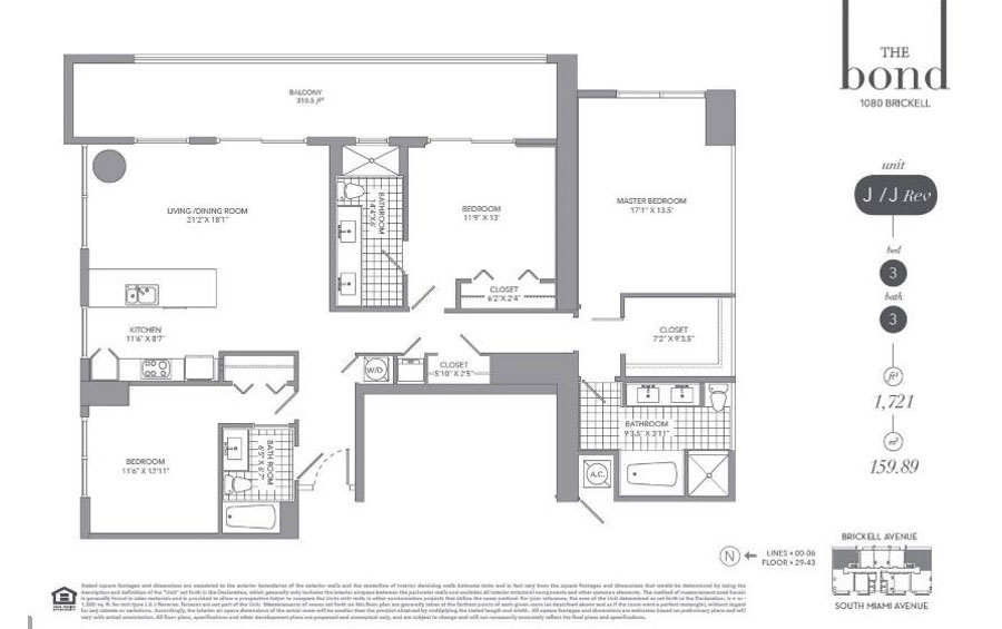 The Bond - Floorplan 10