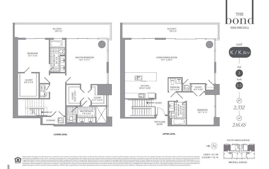 The Bond - Floorplan 11