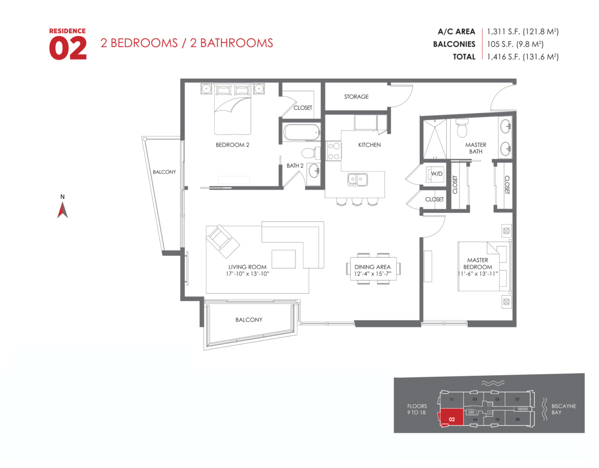 The Crimson Residences - Floorplan 4