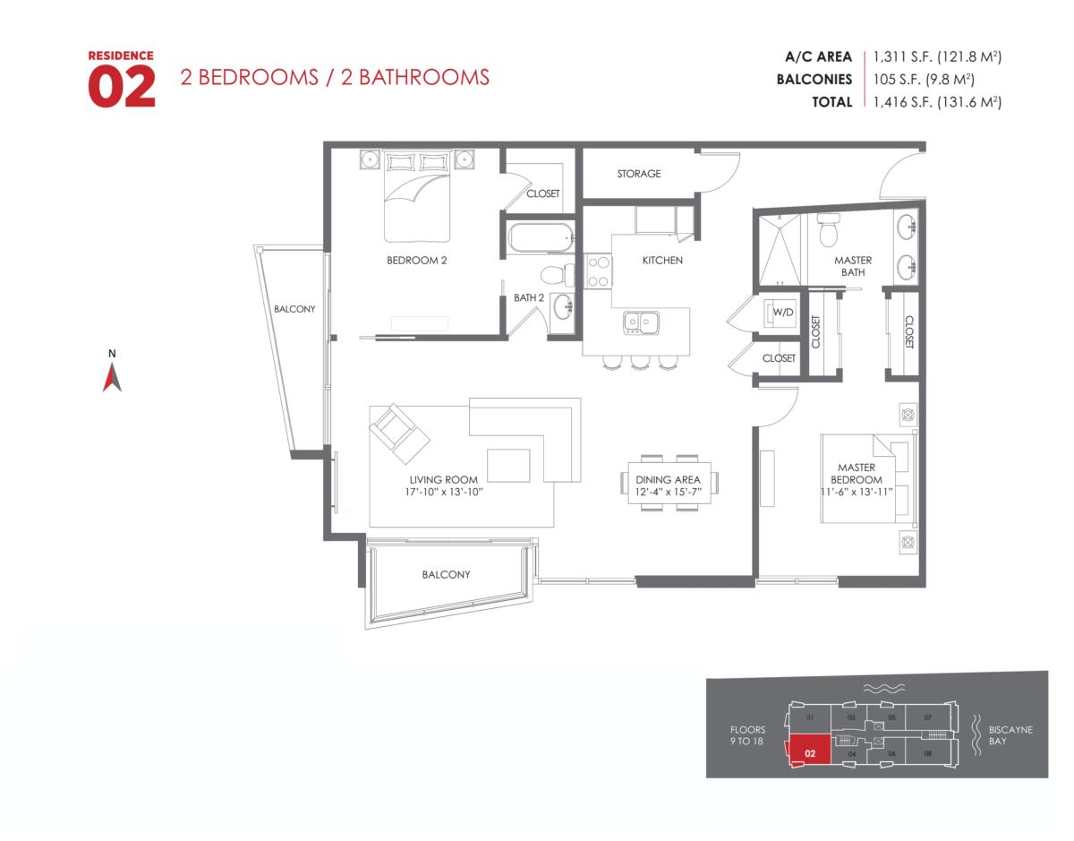 The Crimson Residences - Floorplan 4