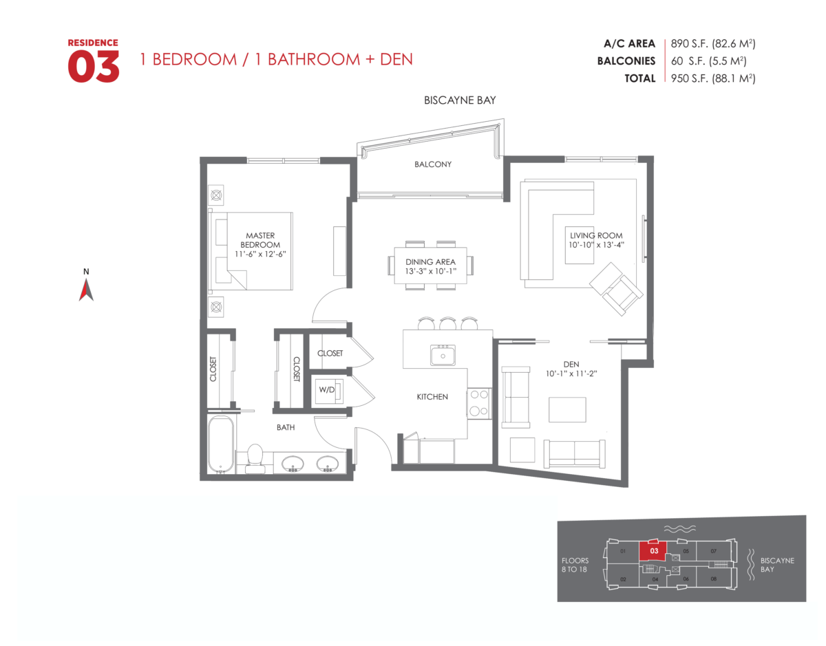 The Crimson Residences - Floorplan 6