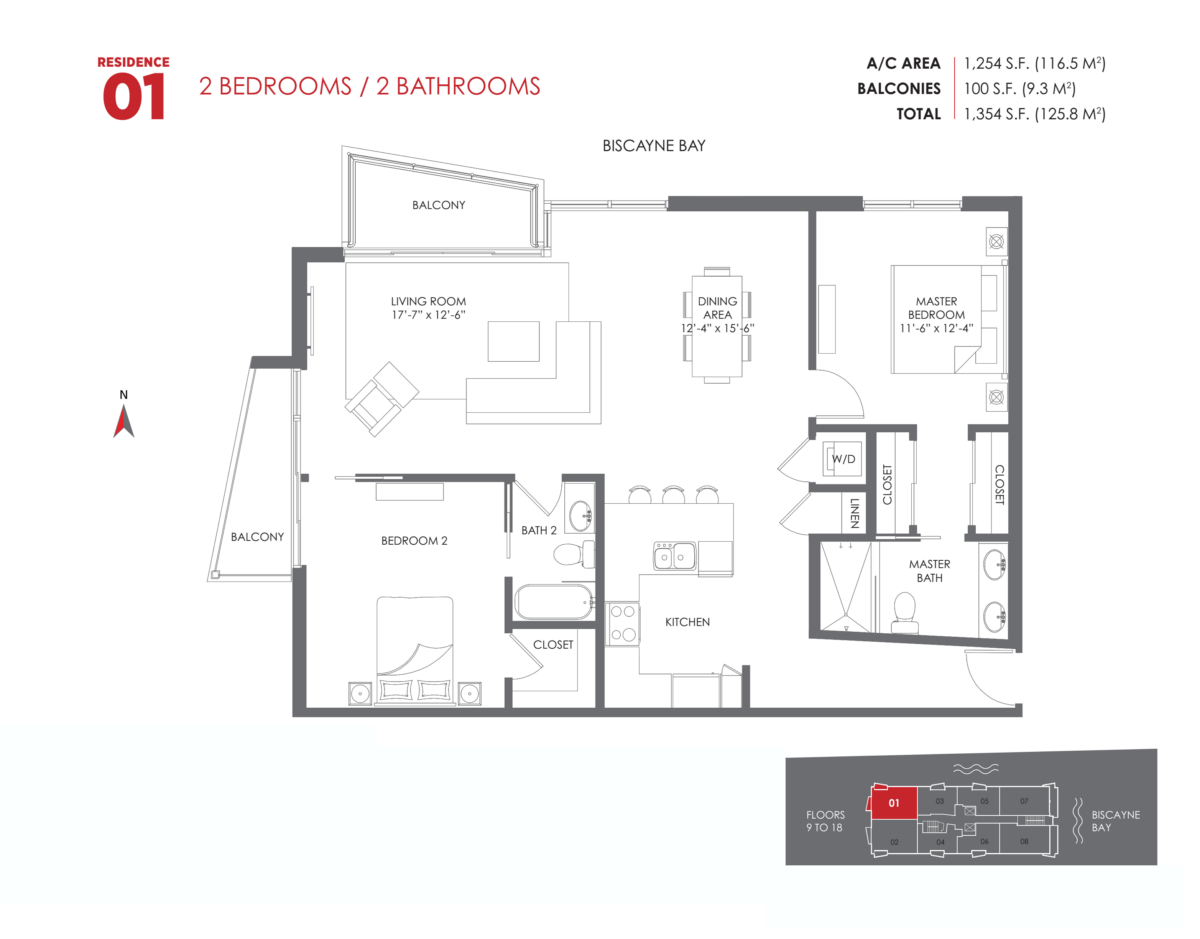 The Crimson Residences - Floorplan 7