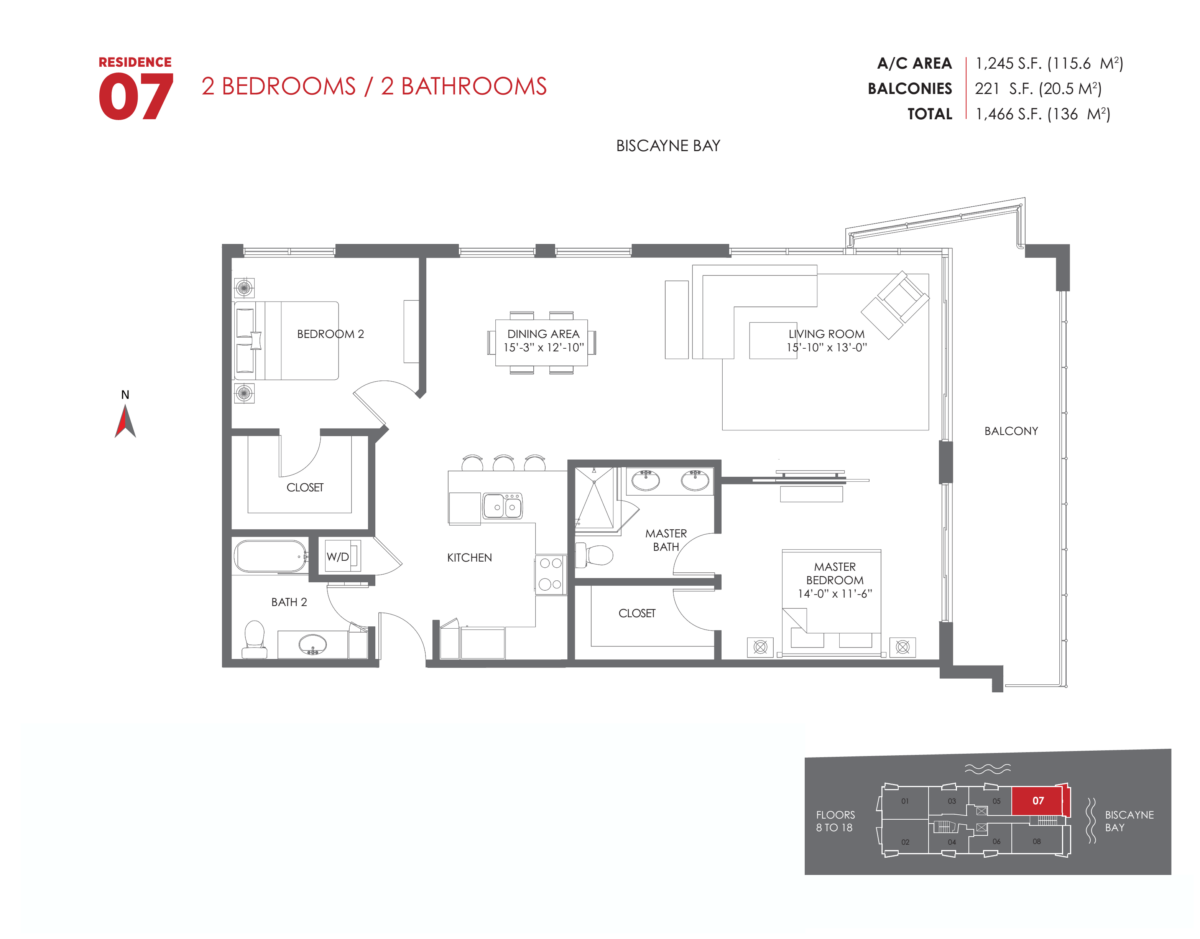The Crimson Residences - Floorplan 8