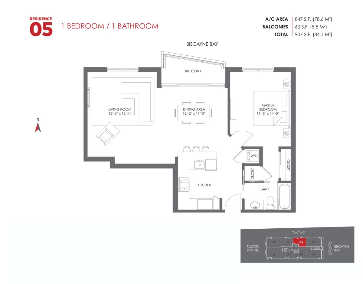 The Crimson Residences - Floorplan 9