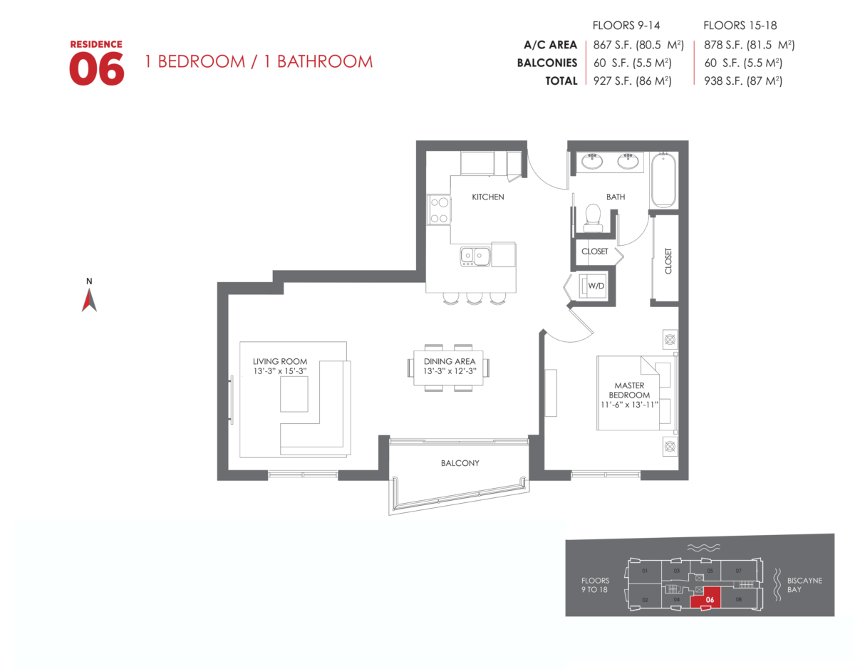 The Crimson Residences - Floorplan 11