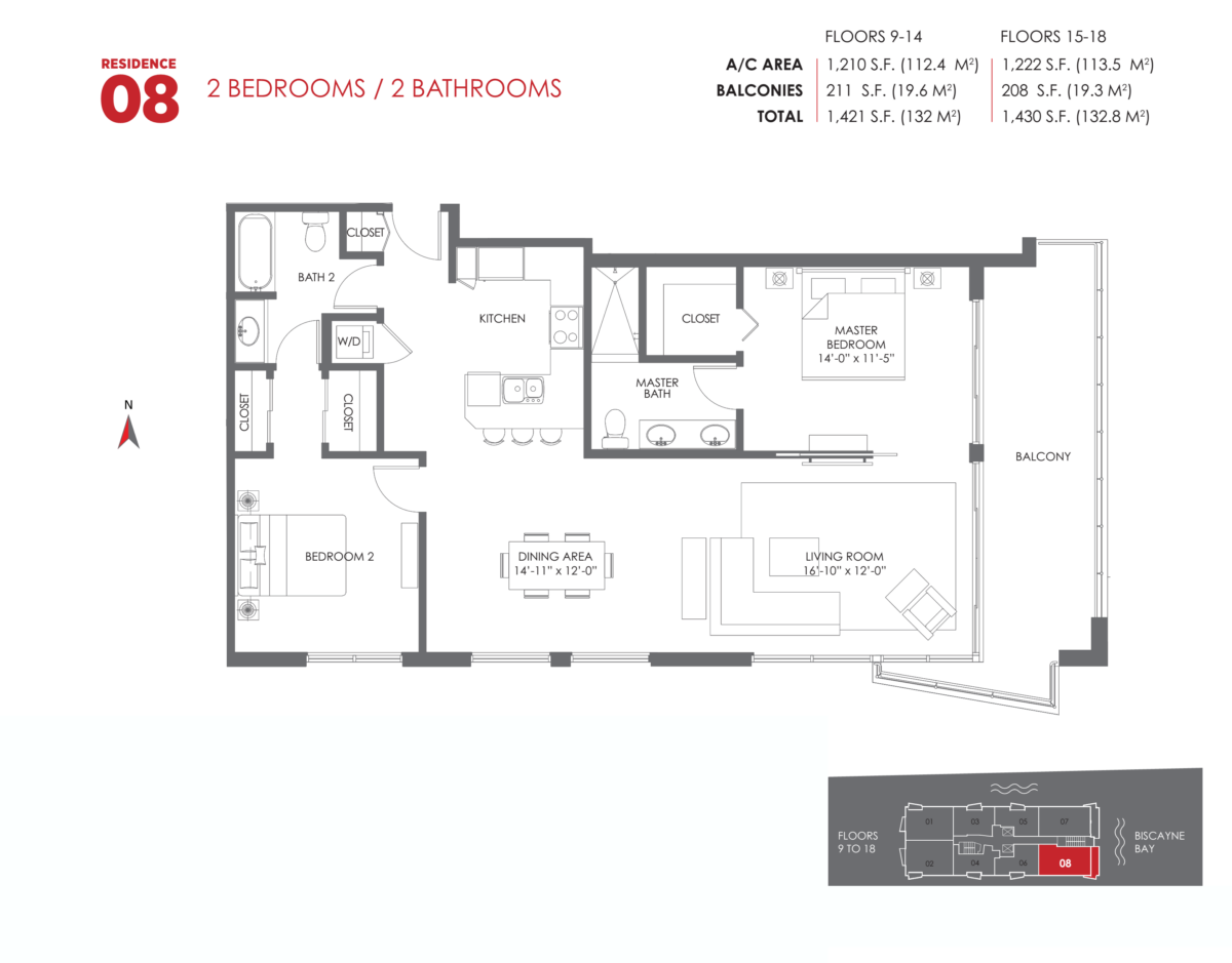 The Crimson Residences - Floorplan 12