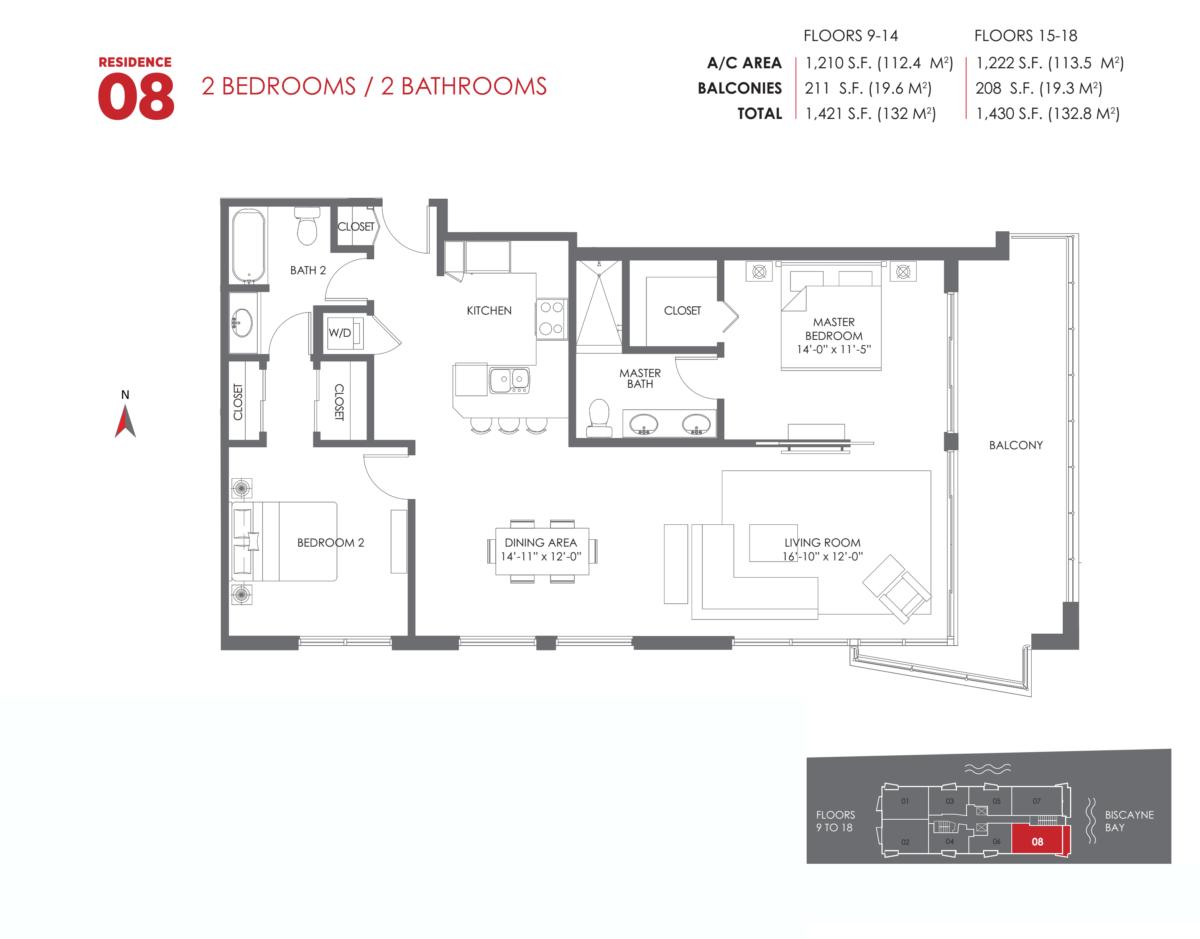 The Crimson Residences - Floorplan 12