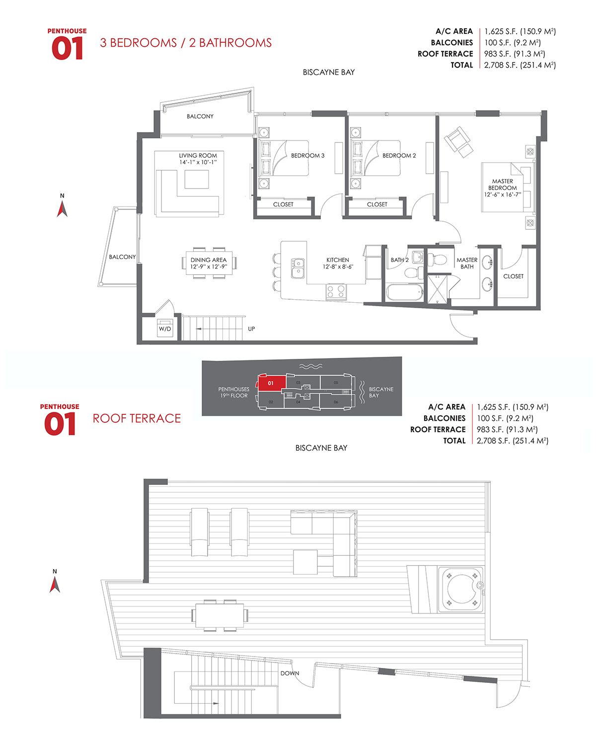 The Crimson Residences - Floorplan 13