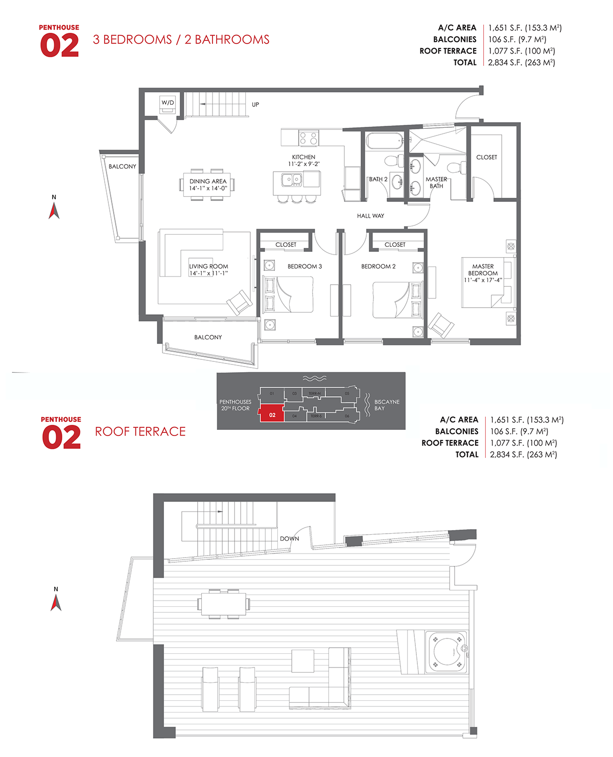 The Crimson Residences - Floorplan 14