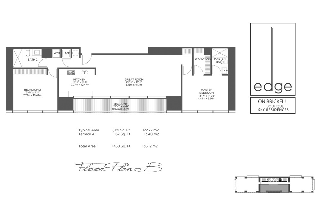 The Edge On Brickell - Floorplan 2