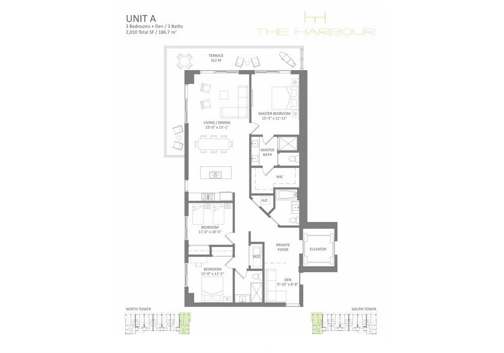 The Harbour - Floorplan 1