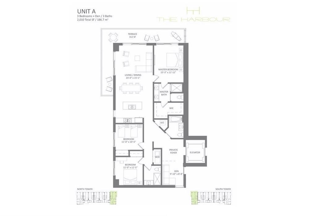 The Harbour - Floorplan 1