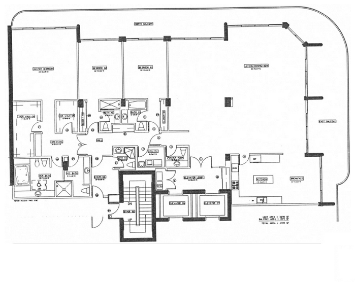 The Palace - Floorplan 4
