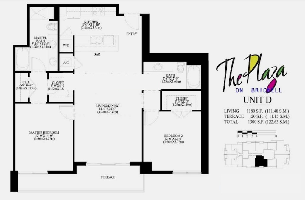 The Plaza On Brickell - Floorplan 4