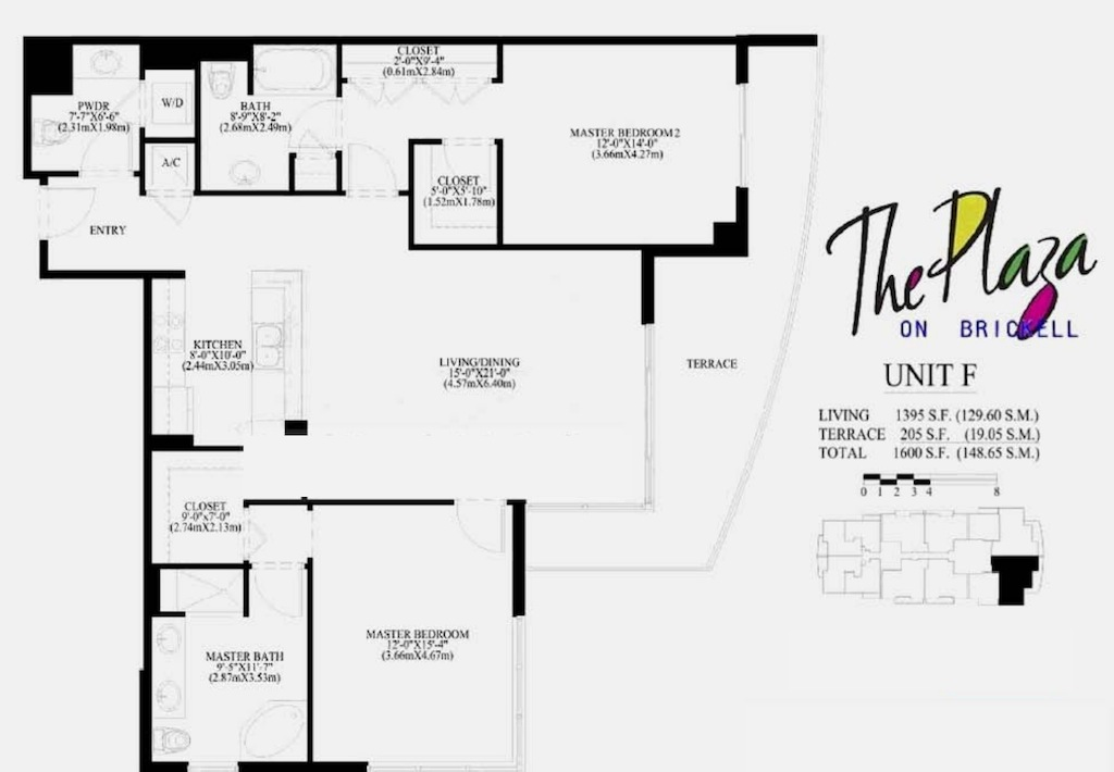 The Plaza On Brickell - Floorplan 6