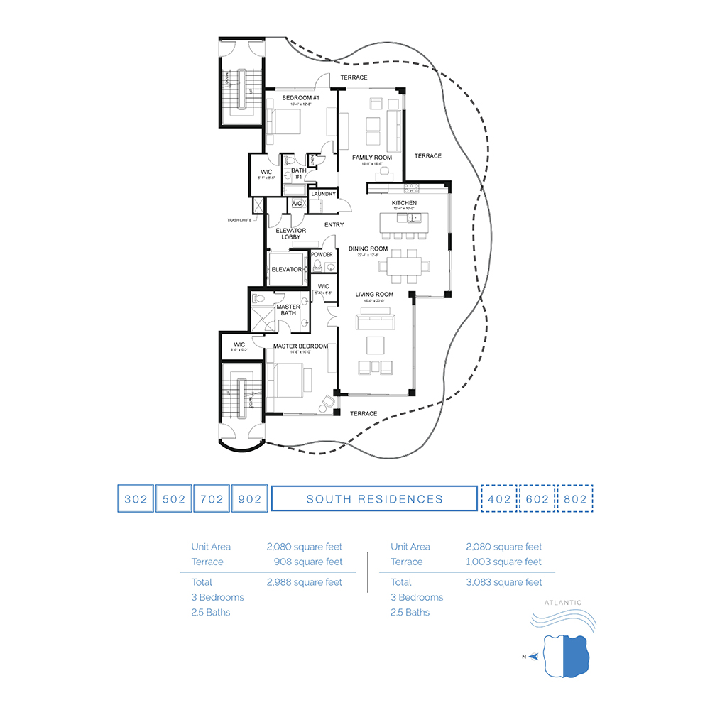 The Wave on Bayshore - Floorplan 2